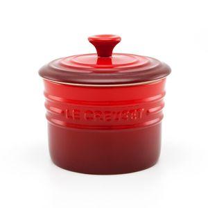 Porta condimentos de cerâmica Le Creuset vermelho 200 ml - 101610