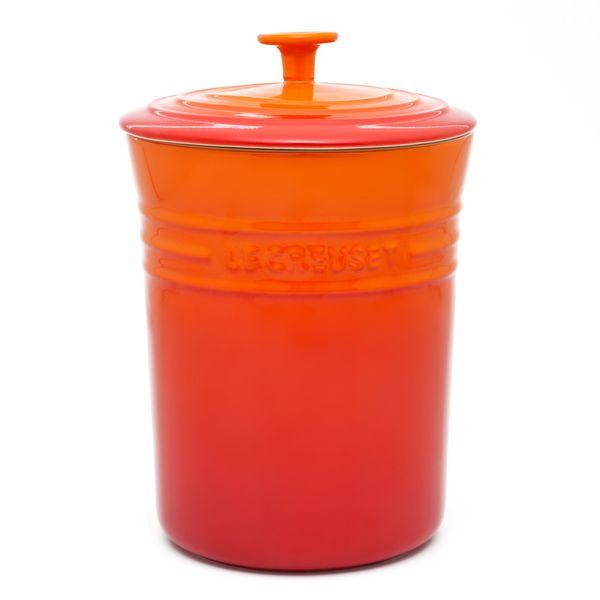 Porta mantimentos de cerâmica Le Creuset laranja 3,8 litros - 101629