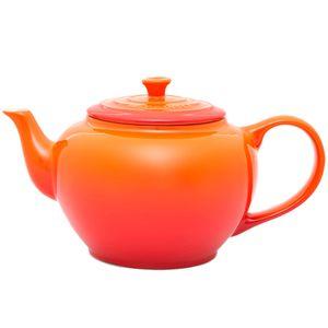 Bule de chá de cerâmica Le Creuset laranja 950 ml - 12878