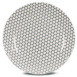 Prato-raso-de-ceramica-Hexagon-Corona-26-cm---23280
