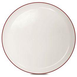 Prato-de-sobremesa-de-ceramica-Klein-Corona-vermelho-22-cm---23287