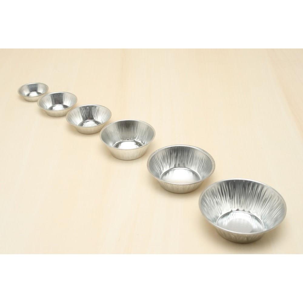 Forma de Alumínio para Empada 12PÇS 6X2,5CM