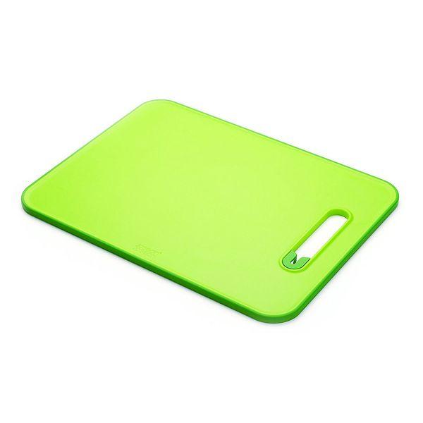 Tabua-de-corte-com-amolador-Slice-Sharpen-Joseph---Joseph-verde-37-x-28-cm---23564
