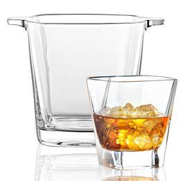 Balde-para-gelo-de-vidro-Ducale-Vetri-com-6-copos---23516