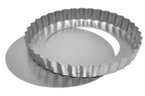 Forma de Alumínio para Quiche com Fundo Removível 21X3CM