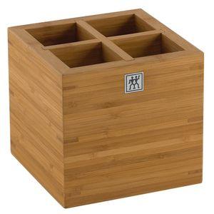 Porta utensílios de bambu Zwilling 16X16CM - 11624