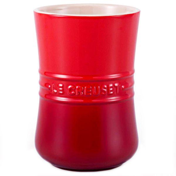Porta utensílios de cerâmica Revolution Le Creuset vermelho - 104450