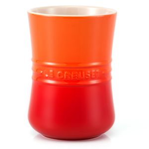 Porta utensílios de cerâmica Revolution Le Creuset laranja - 104451