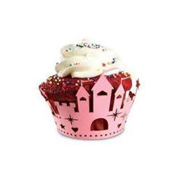 Forminha-para-cupcake-de-papel-Castelo-Fox-Run-rosa-12-unidades