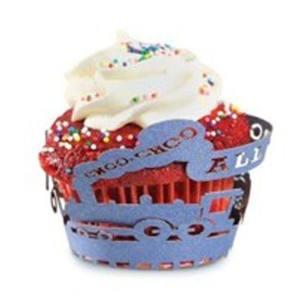 Forminha-para-cupcake-de-papel-Trem-Fox-Run-azul-12-unidades
