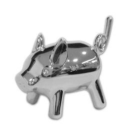 Porta-anel-Porco-Anigram-Umbra-cromado---23892