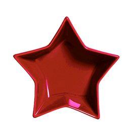 Petisqueira-de-ceramica-Estrela-Funny-vermelha-12-x-4-cm---23868