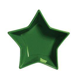 Petisqueira-de-ceramica-Estrela-Funny-verde-12-x-4-cm---23869