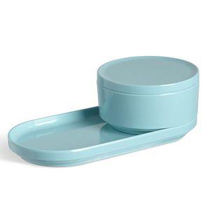 Porta-algodao-de-melamina-Step-Umbra-azul-12-cm---24482