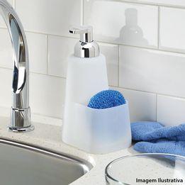 Porta-detergente-de-silicone-Lineo-InterDesign-branco-470-ml---24671
