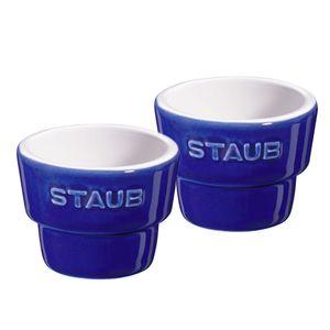 Porta-ovo-de-ceramica-Staub-azul-marinho-2-pecas-5-cm---24688