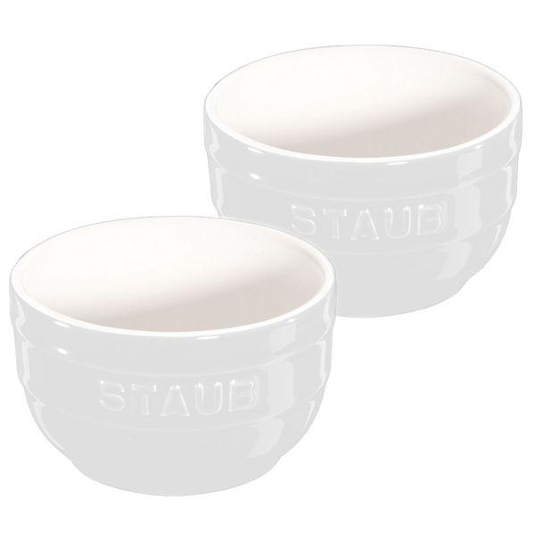 Ramekin-de-ceramica-Staub-branco-2-pecas-250-ml---10750-