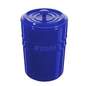 Porta-mantimentos-de-ceramica-Staub-azul-marinho-1-litro---24965