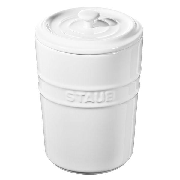 Porta-mantimentos-de-ceramica-Staub-branco-1-litro---24966