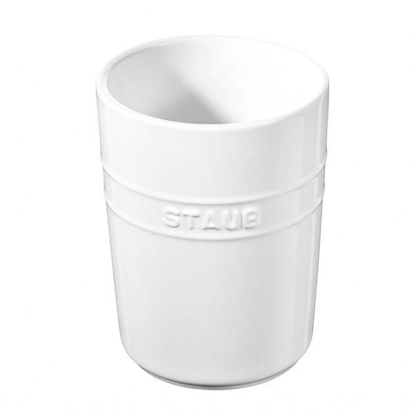 Porta-utensilios-de-ceramica-Staub-branco-11-x-15-cm---25014