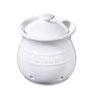 Pote-de-ceramica-para-alho-Staub-branco-12-cm---25017