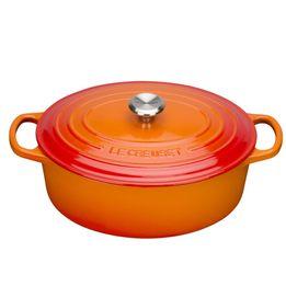 Panela-de-ferro-oval-Signature-Le-Creuset-laranja-27-cm---25036