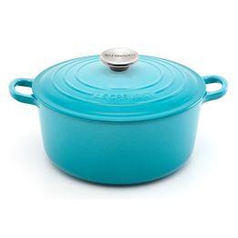 Panela-de-ferro-redonda-Le-Creuset-azul-caribe-26-cm---1520