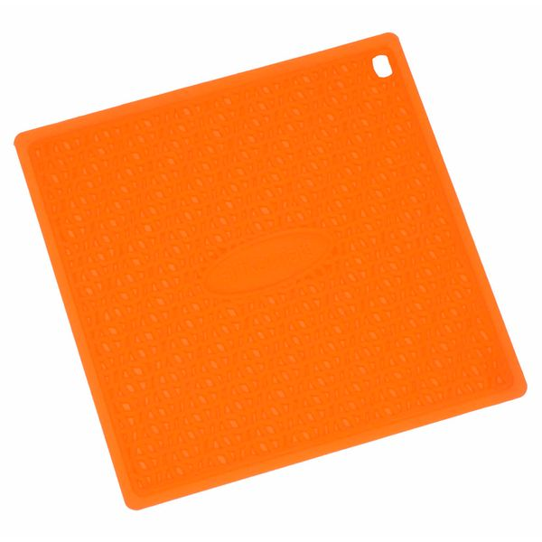 Descanso-de-panela-de-silicone-Silikomart-laranja-175-x-175-cm---25512