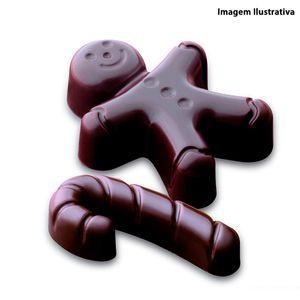 Forma-de-silicone-para-chocolate-Mr-Ginger-Silikomart-marrom-215-cm-x-105-cm---25533
