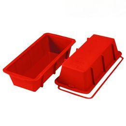 Forma-de-silicone-para-pao-Silikomart-vermelha-24-x-105-x-65-cm-–-25531