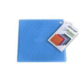Descanso-de-panela-de-silicone-Silikomart-azul-175-x-175-cm---104675