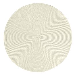 Jogo-americano-redondo-de-fibra-sintetica-Luna-Perola-bege-385-cm---25562