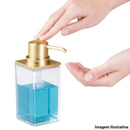 Porta-sabonete-liquido-de-acrilico-Golden-InterDesign-650-ml---25596