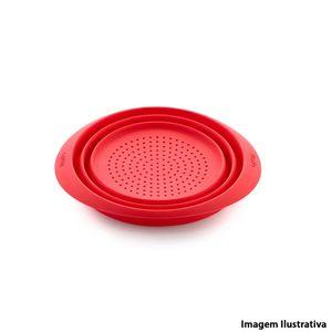 Escorredor-de-alimentos-de-silicone-Lekue-vermelho-23-cm---25735