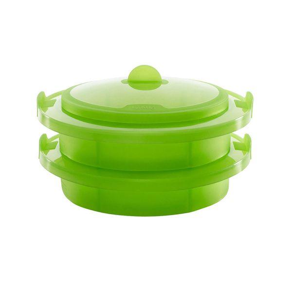 Cozi-vapor-de-silicone-Lekue-verde-2-pecas---25727-