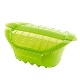 Steamer-para-cozinhar-a-vapor-de-silicone-Lekue-verde-21-x-155-x-85-cm---25550-