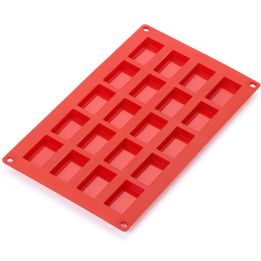 Forma-de-silicone-para-Financiero-Lekue-vermelha-30-x-175-x-1-cm---25828-