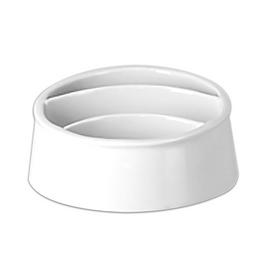 Porta-sache-de-porcelana-Giro-Rak-branco-12-x-5-cm---25944-