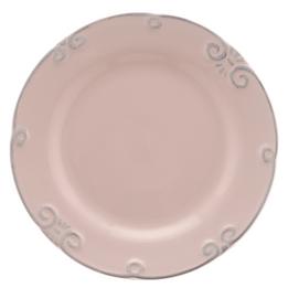 Prato-de-sobremesa-de-ceramica-Lace-rosa-21-cm---26016