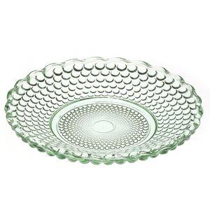Mini-prato-de-vidro-Bolinha-verde-11-cm---26033