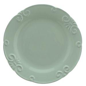 Prato-de-sobremesa-de-ceramica-Lace-verde-21-cm---26017