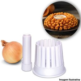 Preparador-para-cebola-de-Plastico-Blossom-Fox-Run-branco---105441-