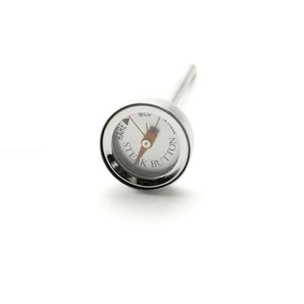 Termômetro para carne de inox 6 cm - 24289