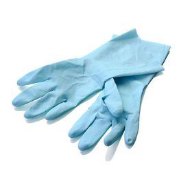 Luva-para-limpeza-de-borracha-azul-30-cm---21444
