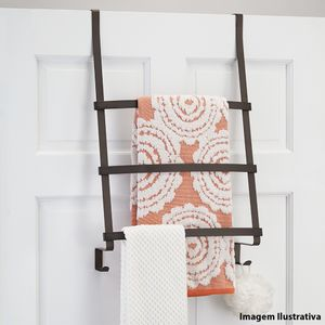 Suporte-de-toalha-de-aco-para-porta-InterDesign-marrom-60-x-425-x-165-cm---26428