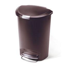 Lixeira-de-plastico-Semi-Round-SimpleHuman-marrom-50-litros---26464