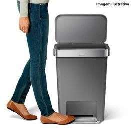 Lixeira-de-plastico-Step-Can-SimpleHuman-cinza-45-litros---26467