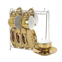 Xicara-de-cafe-de-porcelana-cromada-Vice-Versa-dourada-6-pecas-90-ml---26415