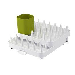 Escorredor-de-louca-de-plastico-Connect-Joseph---Joseph-verde-e-branco-445-x-29-cm---23550-
