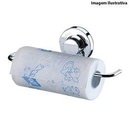 Porta-papel-toalha-de-aco-cromado-com-ventosa-Future-27-x-10-cm---14392